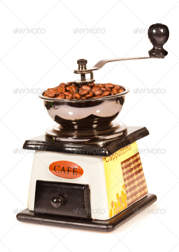 coffee grinder - Stock Photo - Images