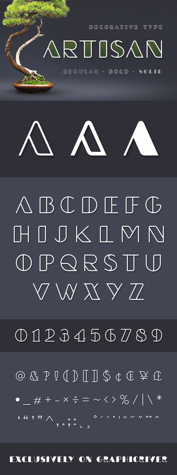 Artisan st Typeface - Decorative Fonts