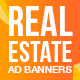 Real Estate Ad Banners - GraphicRiver Item for Sale