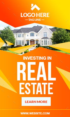 Real Estate Ad Banners by pxoutline | GraphicRiver