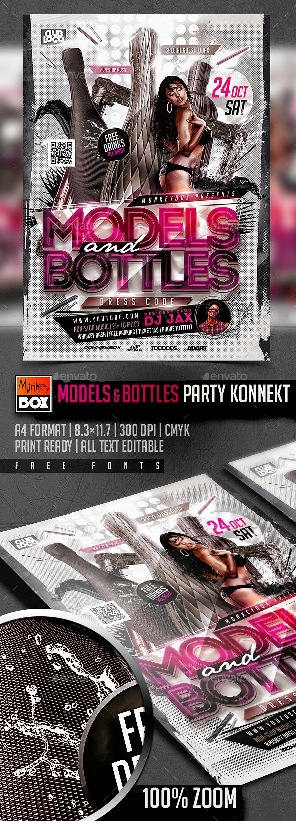 Models&Bottles Party Konnekt - Clubs & Parties Events