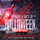 Halloween Night Party | Psd Flyer Template - GraphicRiver Item for Sale