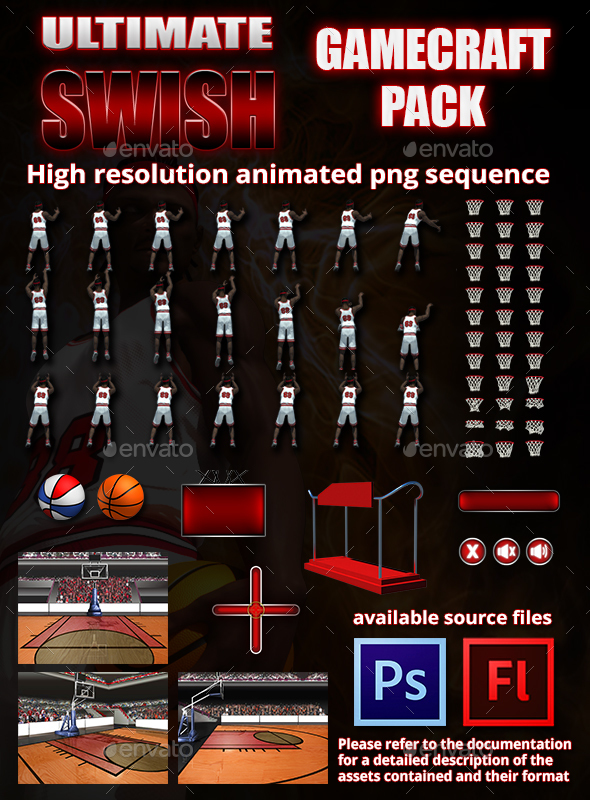 Ultimate Swish Game Assets - Game Kits Game Assets