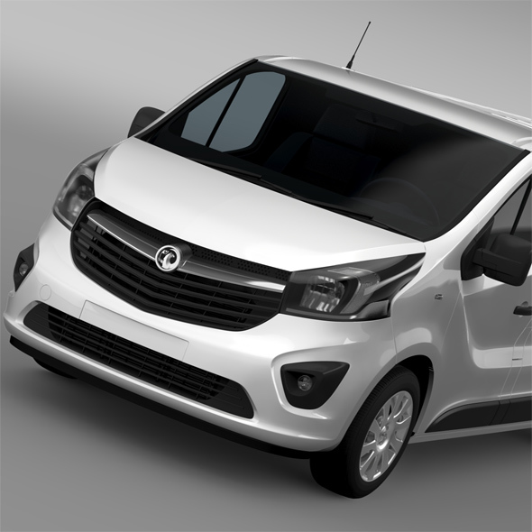Vauxhall Vivaro 2015 L2H1 - 3DOcean Item for Sale