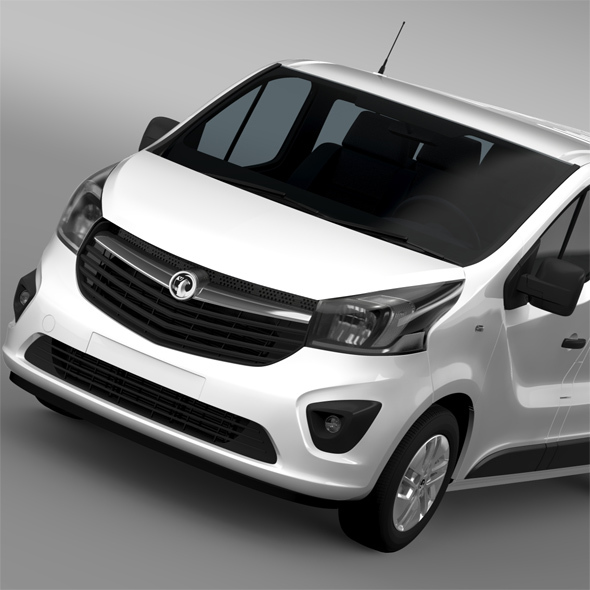 Vauxhall Vivaro Window Van 2015 L2H1 - 3DOcean Item for Sale
