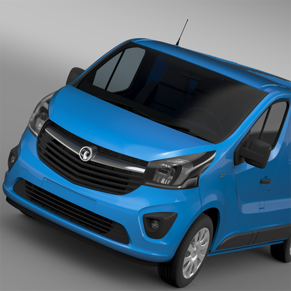 Vauxhall Vivaro Van 2015 - 3DOcean Item for Sale