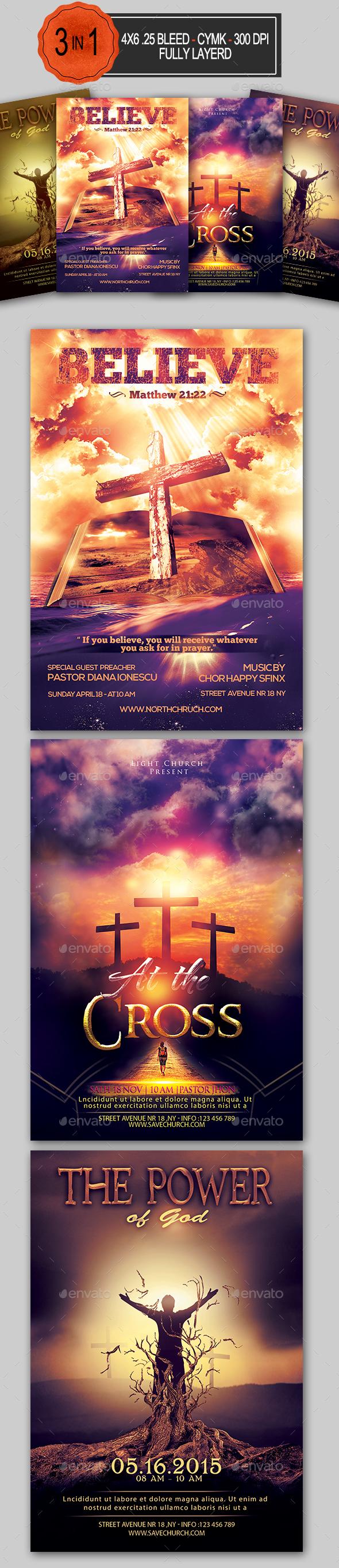 Church Flyer Bundle - Church Flyers