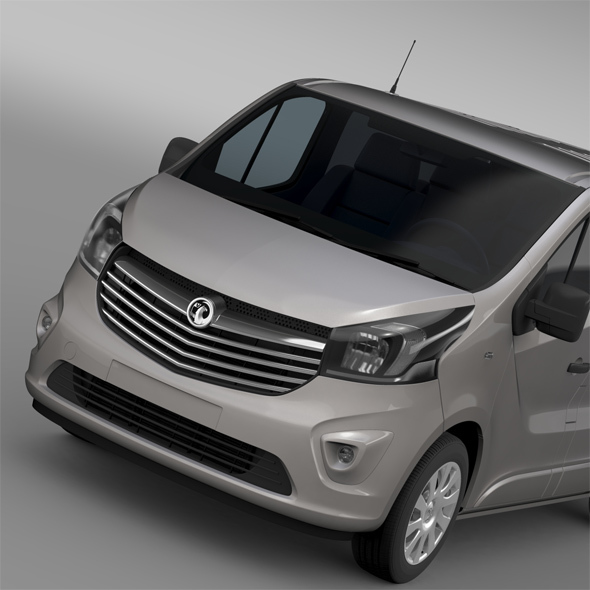 Vauxhall Vivaro Van Biturbo 2015 - 3DOcean Item for Sale