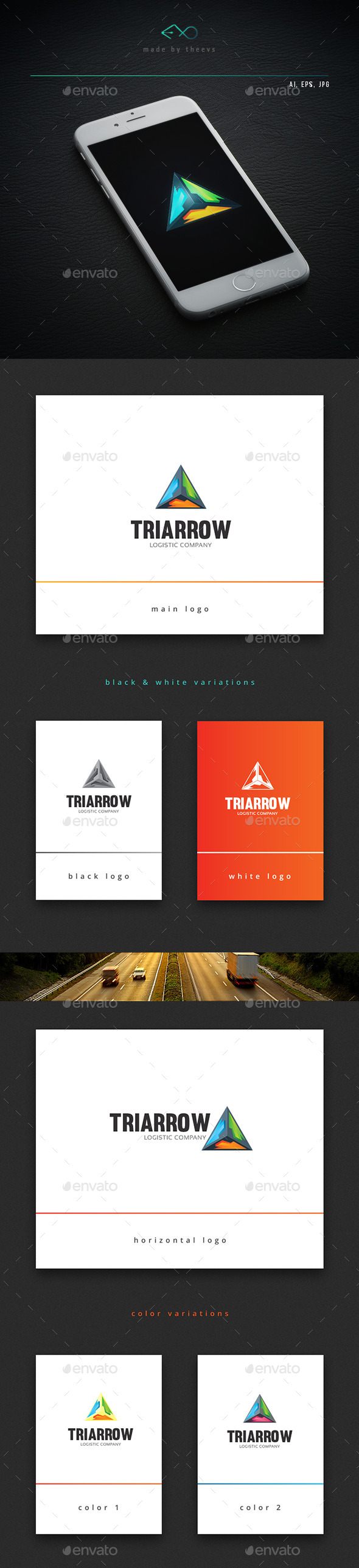 Triarrow - Vector Abstract