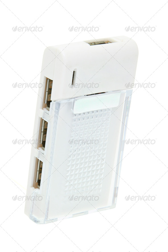 Computer USB hub - Stock Photo - Images