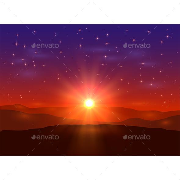 Sunrise - Landscapes Nature