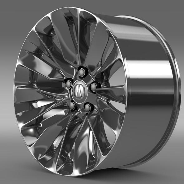 Acura RLX rim - 3DOcean Item for Sale