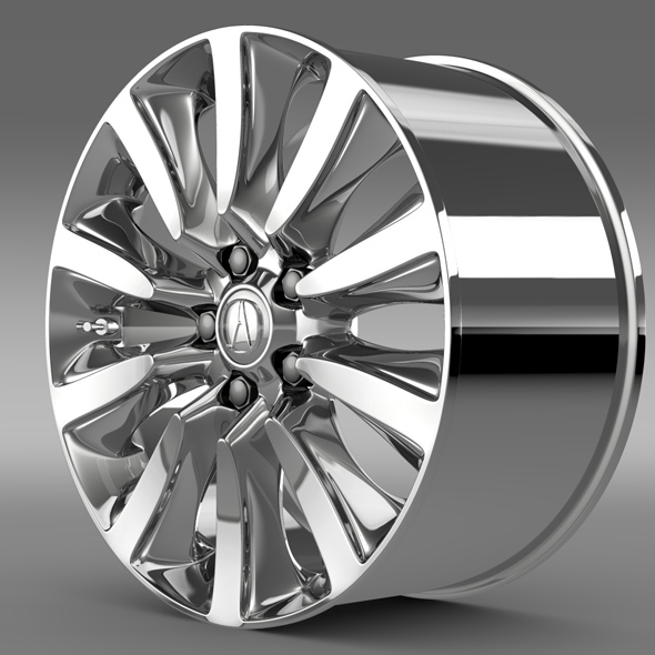 Acura RLX Sport rim - 3DOcean Item for Sale