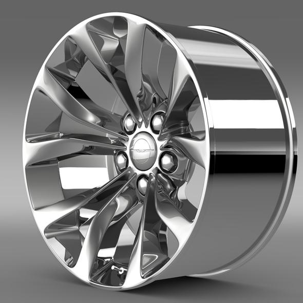 Chrysler 300 Limited 2015 rim - 3DOcean Item for Sale