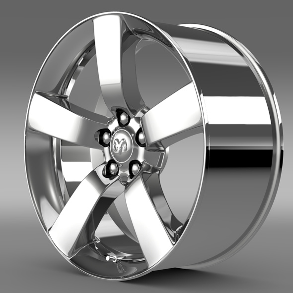Dodge T rim - 3DOcean Item for Sale