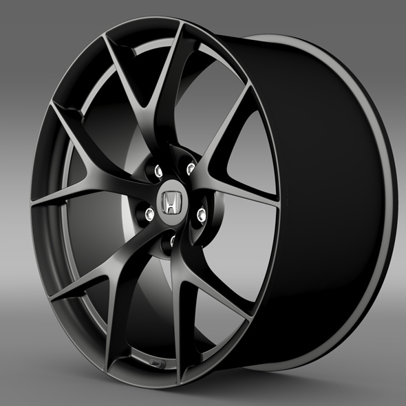 Honda NSX rim 2015 - 3DOcean Item for Sale