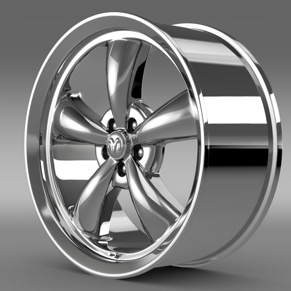Mopar Dodge Challenger rim - 3DOcean Item for Sale