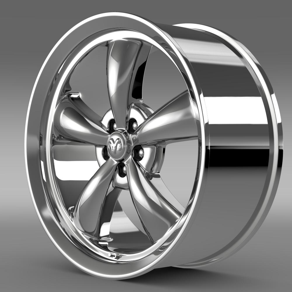 Mopar Dodge Challenger rim