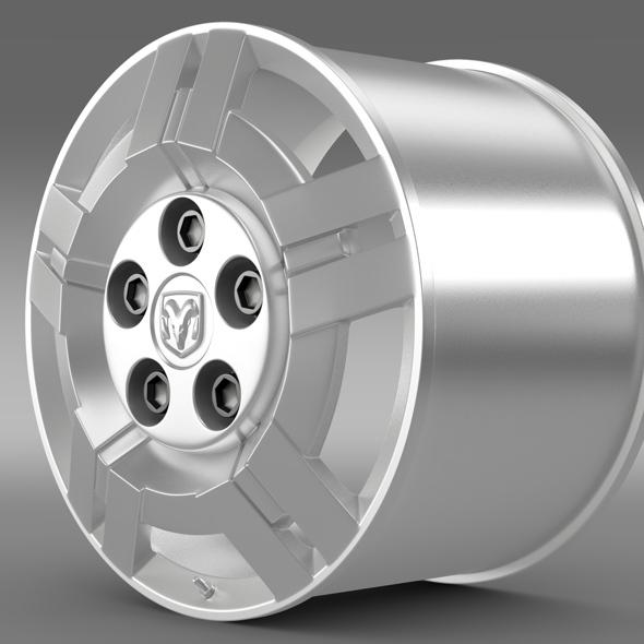 Ram Promaster rim - 3DOcean Item for Sale