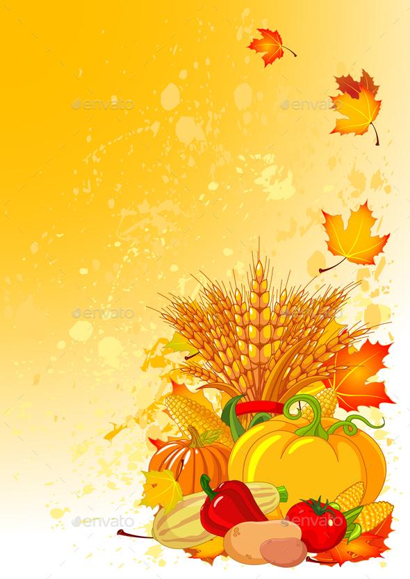 Harvest Background - Flowers & Plants Nature