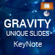Gravity Keynote Presentation Template - GraphicRiver Item for Sale
