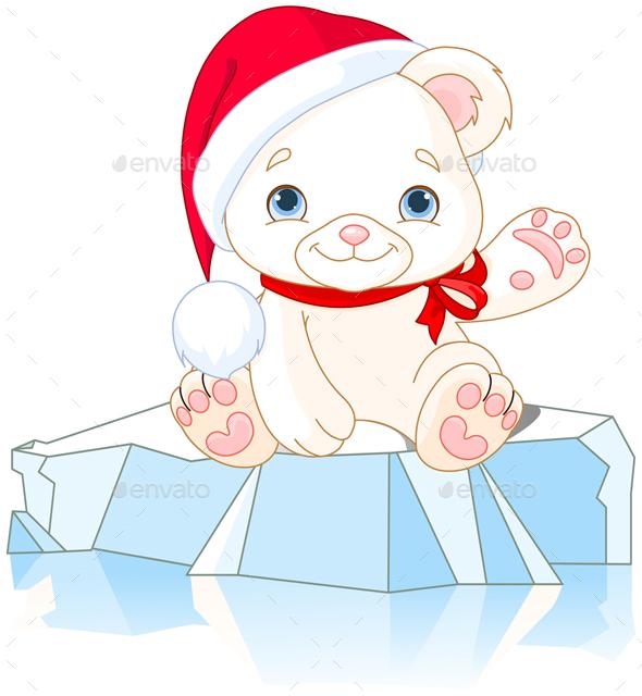Christmas Polar Bear  - Christmas Seasons/Holidays