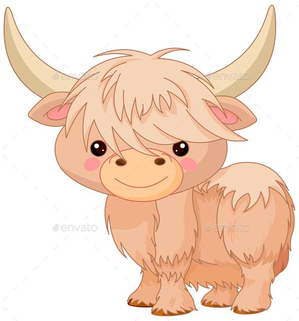 Yak - Animals Characters