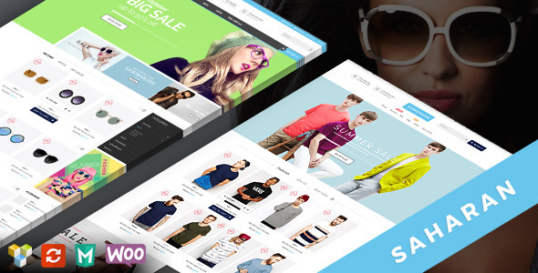 SAHARAN – Ultimate Responsive WordPress Theme