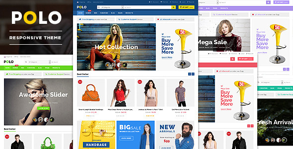 Polo - Beauty Store WooCommerce WordPress Theme - WooCommerce eCommerce