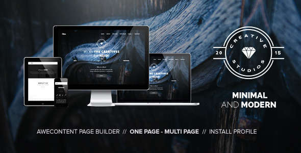 Hero – Minimal Multipurpose Portfolio Themes