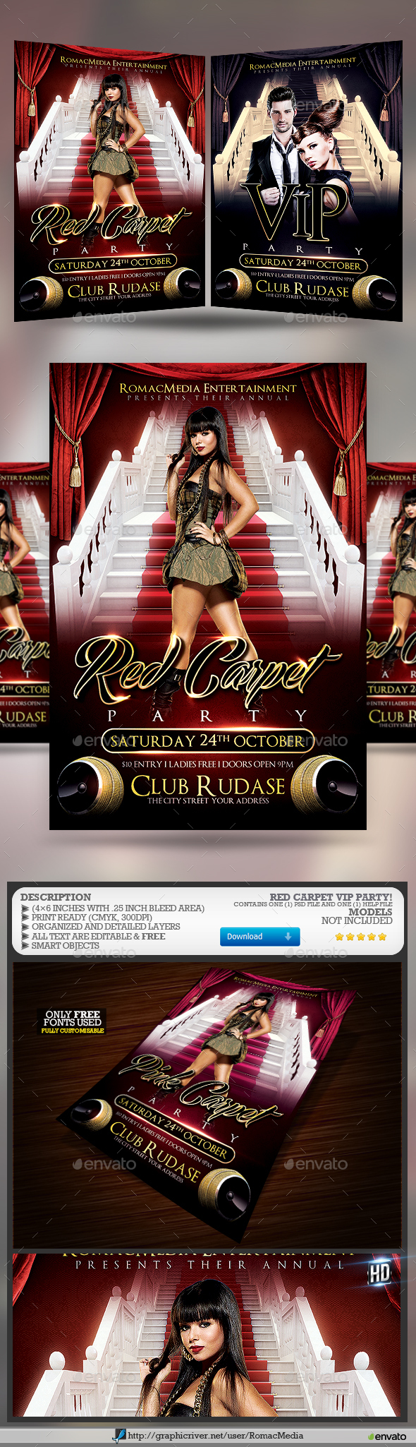 Red Carpet VIP Party - Clubs & Parties Events