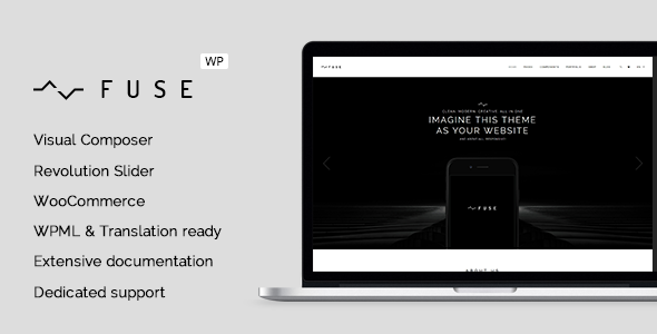 Fuse – Responsive Business WordPress Theme