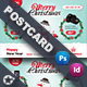 Christmas Product Postcard Templates - GraphicRiver Item for Sale