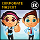 Corporate Business Mascot - GraphicRiver Item for Sale