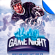 Hockey Game Night Event Promo Flyer