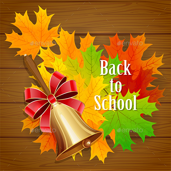 Back to School Background - Seasons Nature