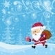 Santa Claus In Christmas Forest - GraphicRiver Item for Sale