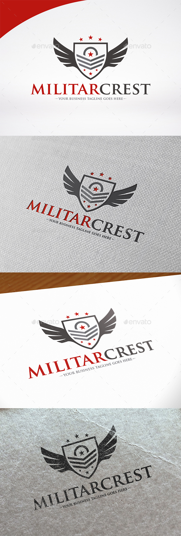 Military Crest Logo Template - Crests Logo Templates