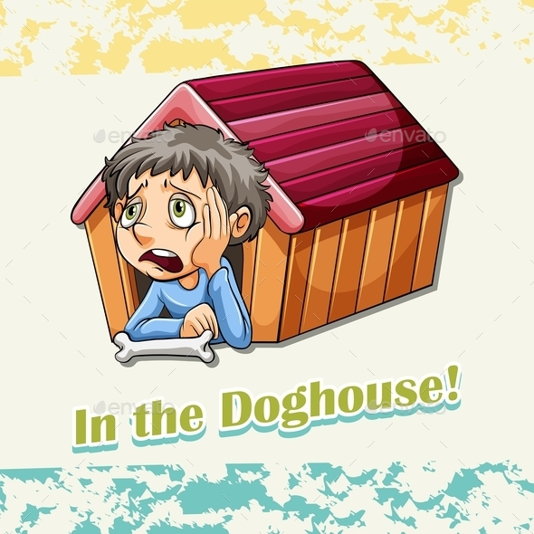 Idiom in the Doghouse - People Characters