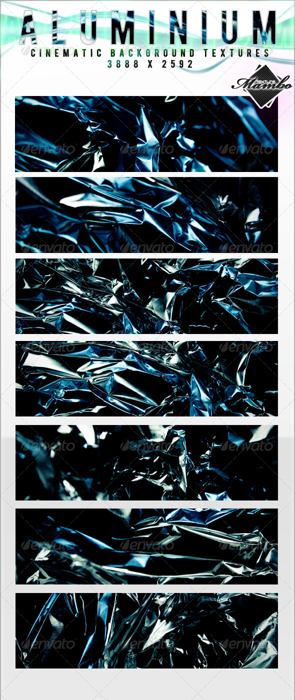 Aluminium - Cinematic Background Textures - Metal Textures