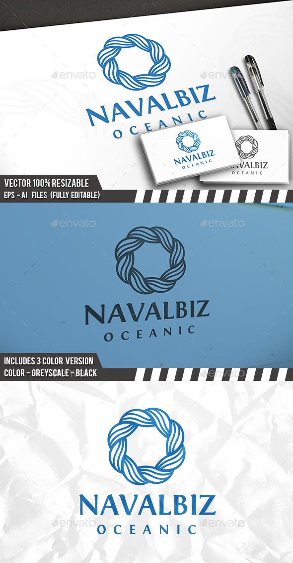 Ocean Brand Logo - Vector Abstract