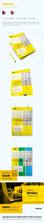 Creative Flyer Design - Flyers Print Templates