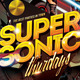 Supersonic Saturday / Club Flyer - GraphicRiver Item for Sale