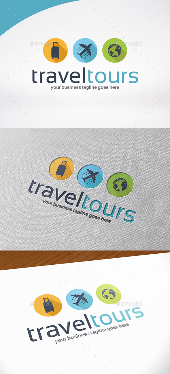 Travel Tour Logo Template - Symbols Logo Templates