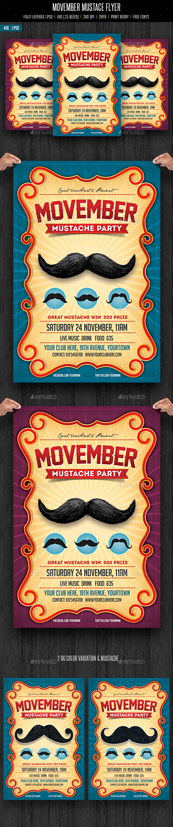 Movember Mustache Party - Clubs & Parties Events