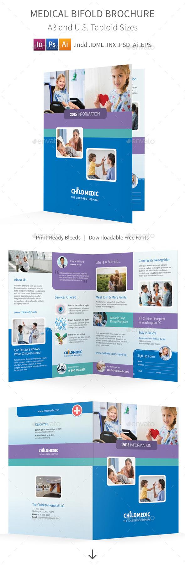 Medical Bifold / Halffold Brochure - Informational Brochures