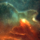 Space Nebulae Flight Looped Background - VideoHive Item for Sale