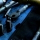 Wrenches And Bolts On Table Close Up - VideoHive Item for Sale