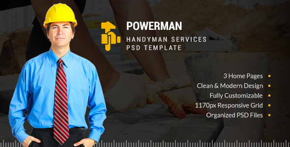 POWERMAN – handyman Services