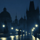 Rain on the Charles Bridge - VideoHive Item for Sale